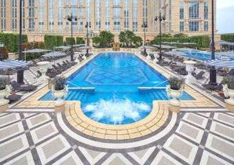 The Parisian Macao outdoor pool