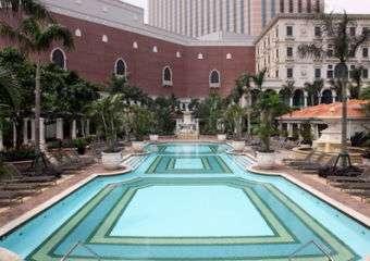 The Venetian Macao pool side