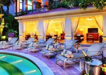 Venetian Pool Nighttime