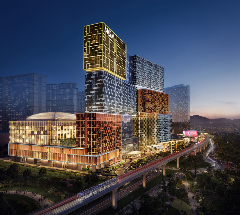 Structure of MGM Cotai