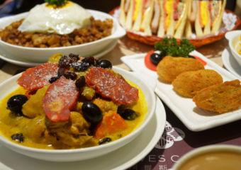 Alves Cafe chorizo stew