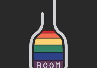 Logo for Boom Bar gay bar in Taipa, Macau