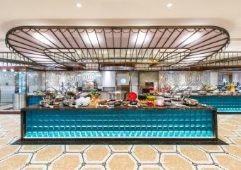 Buffet at Brasserie de Paris in Legend Palace Hotel in Macau