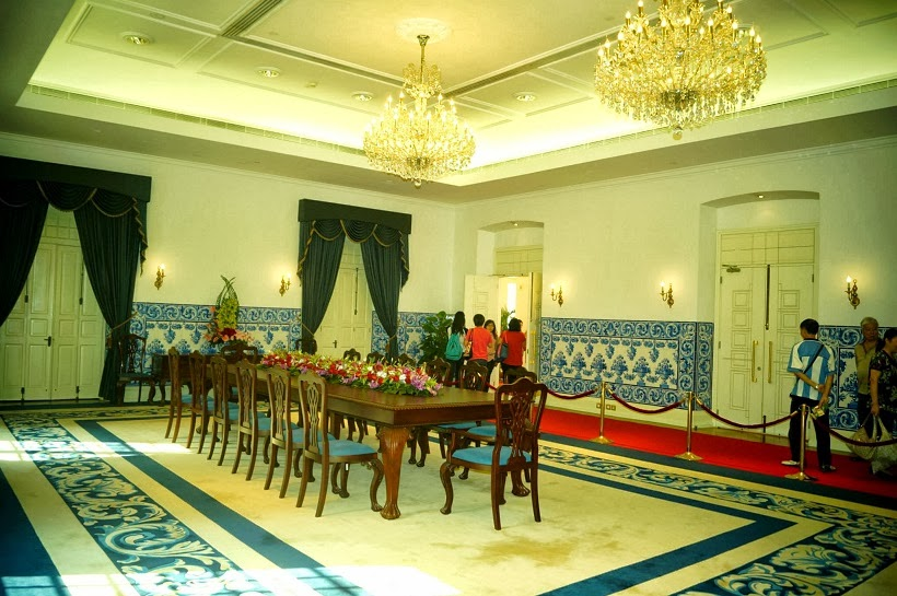 Government Headquarters' meeting room