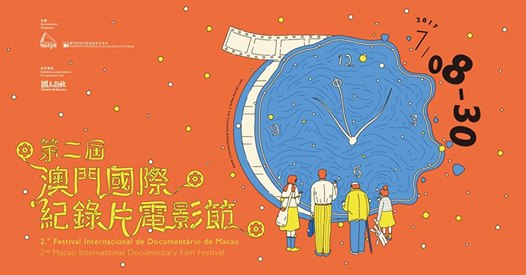 Poster advertising the 2nd Macao International Documentary Film Fest.