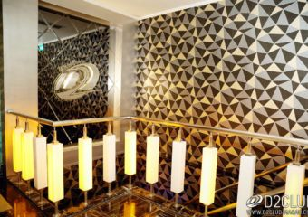 Interior decoration at D2 Club at Fisherman's Wharf in Macau.