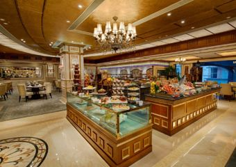 Buffet at Praha Restaurant in Macau