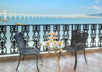 Terrace the Sky Lounge at Rocks Hotel in Macau