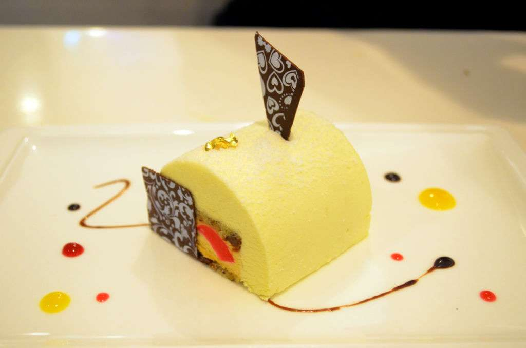 A dessert from D'light Dessert Cafe in Macau.