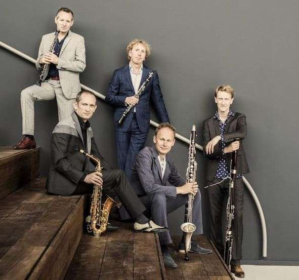 The Calefax Reed Quintet.