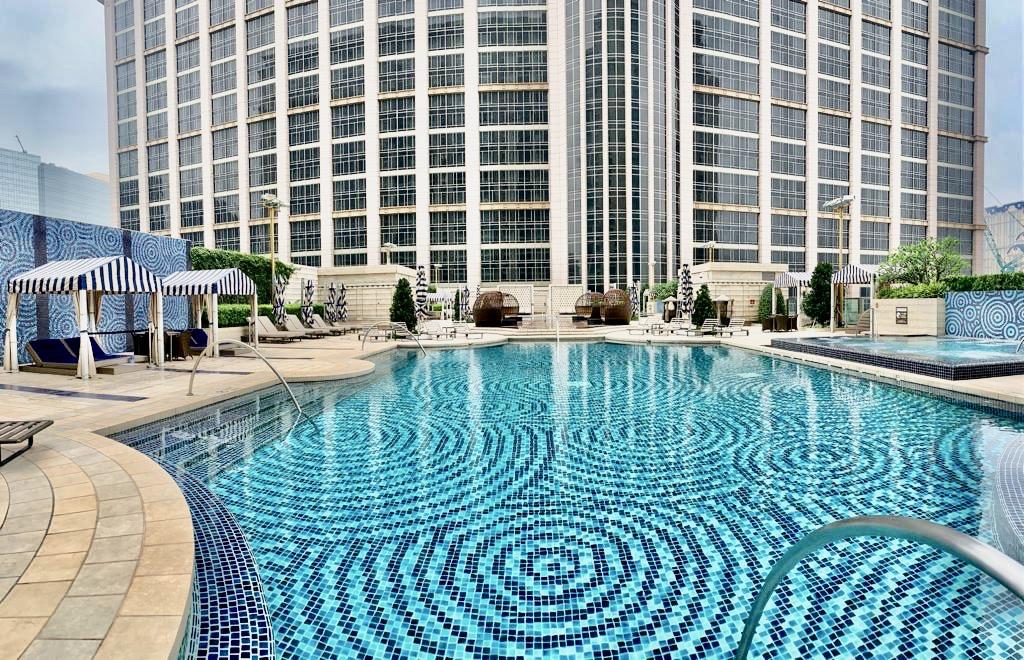 St Regis Macao Swimming Pool Outdoor Macau Lifestyle