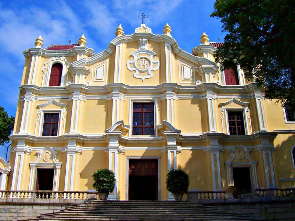 St. Joseph's Seminary and Church's facade