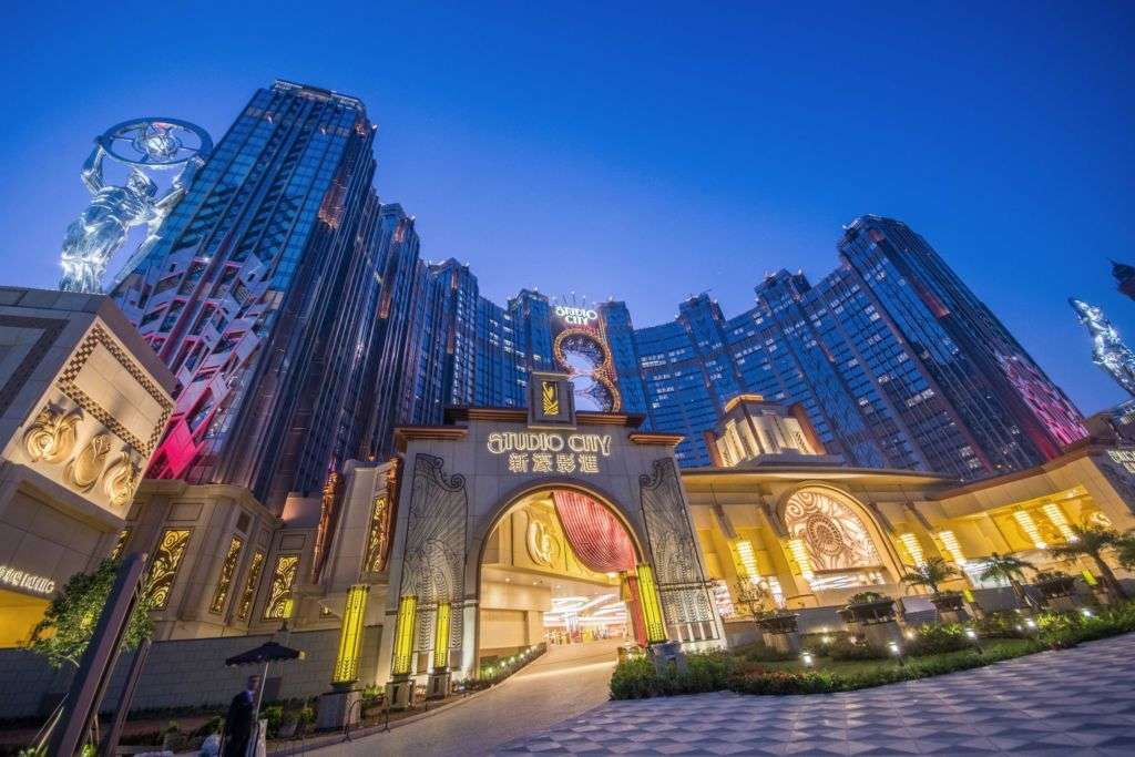 Studio City Macau entrance