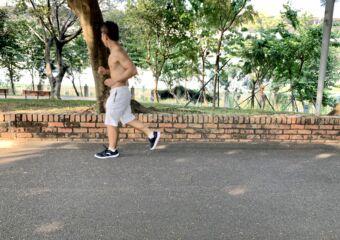 Sun Yat Sen Park Macau Guy Jogging Macau Lifestyle