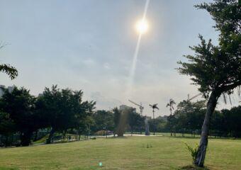 Sun Yat Sen Park Macau Lawned Area Macau Lifestyle