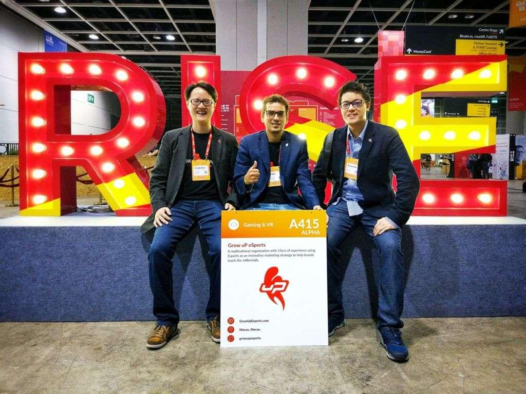 Grow uP eSports at RISE 2017