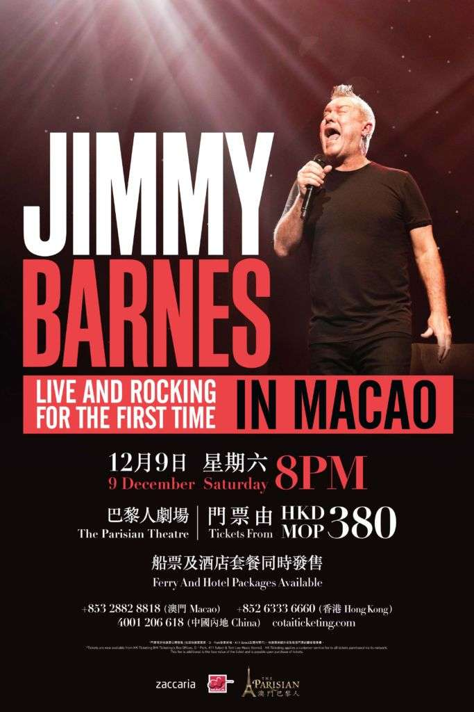 Jimmy Barnes Live in Macao