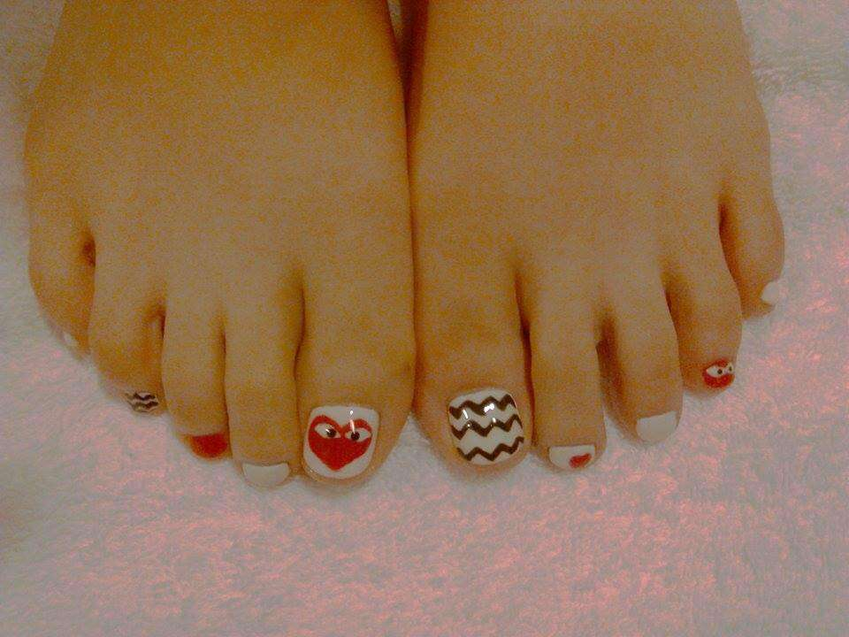 La Belle nail art toenails cute designs - Macau Lifestyle
