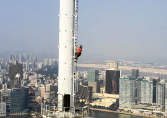 AJ Hackett Macau Tower Tower climb