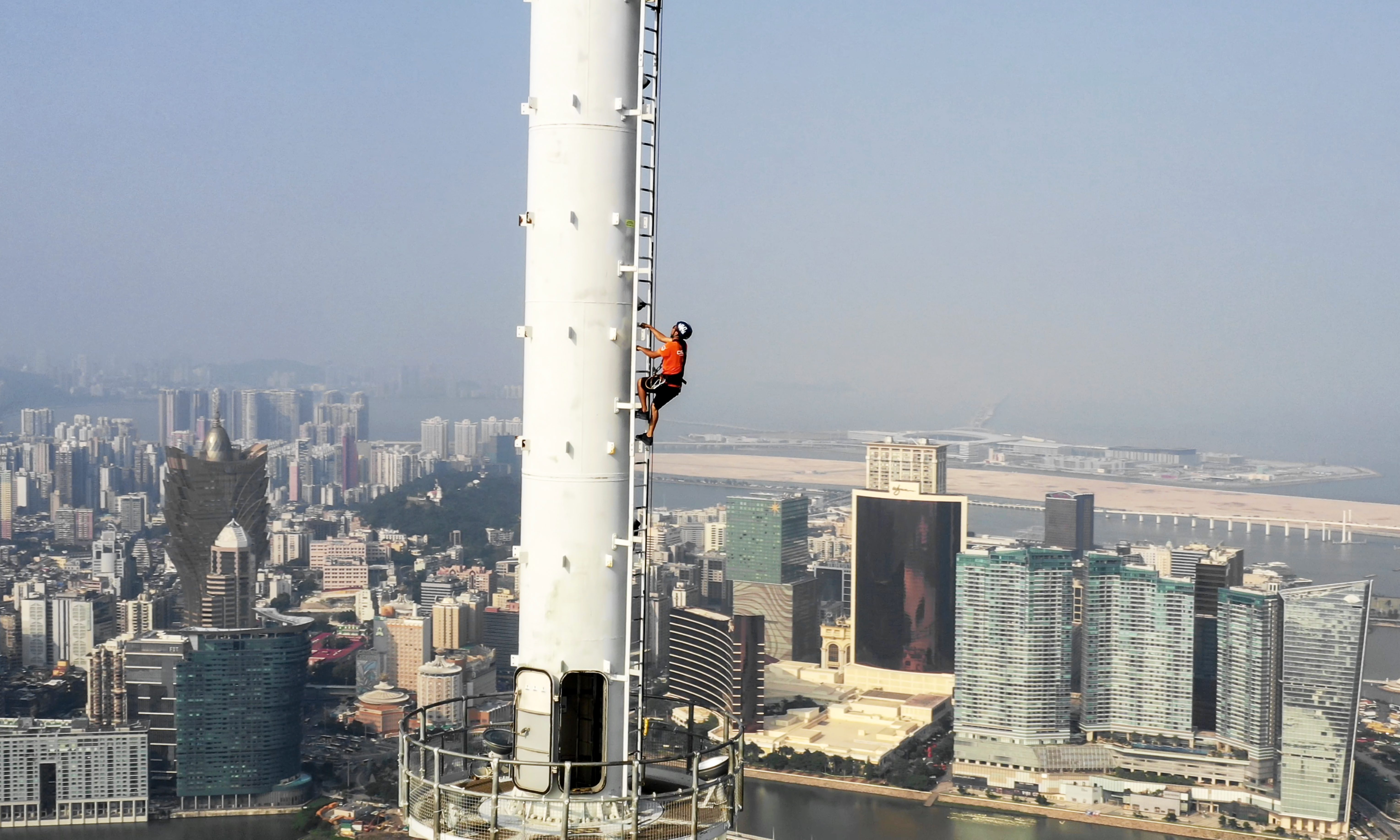 Macau Lifestyle AJ Hackett Way to the TOP Macau Tower Climb 338m