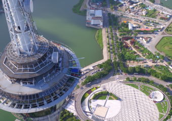 AJ Hackett Macau Tower view from above