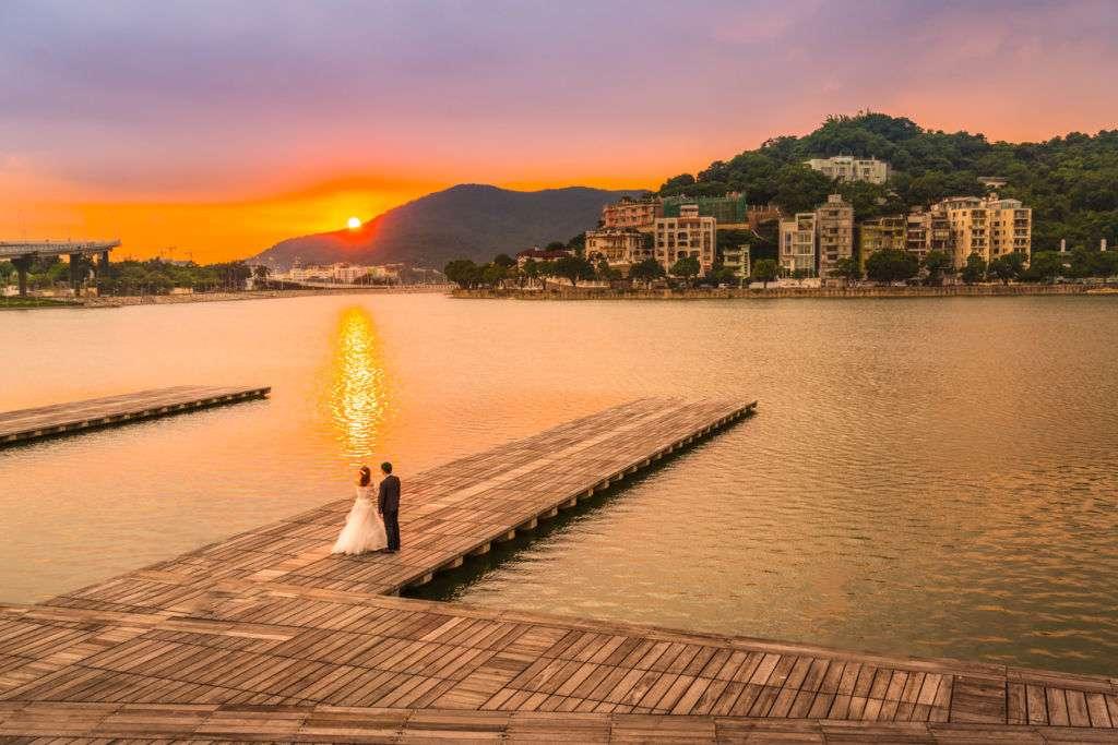 Macau Pre-Wedding Shoot Sai Van Lake