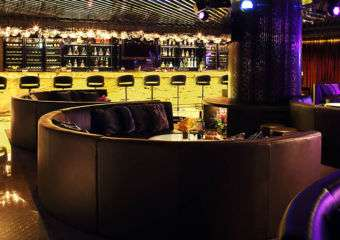 The Windsor bar at the Grand Emperor Hotel in Macau