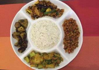 Picture of a sampler dish from Nepal restaurant Gurkhas' taste in Macau
