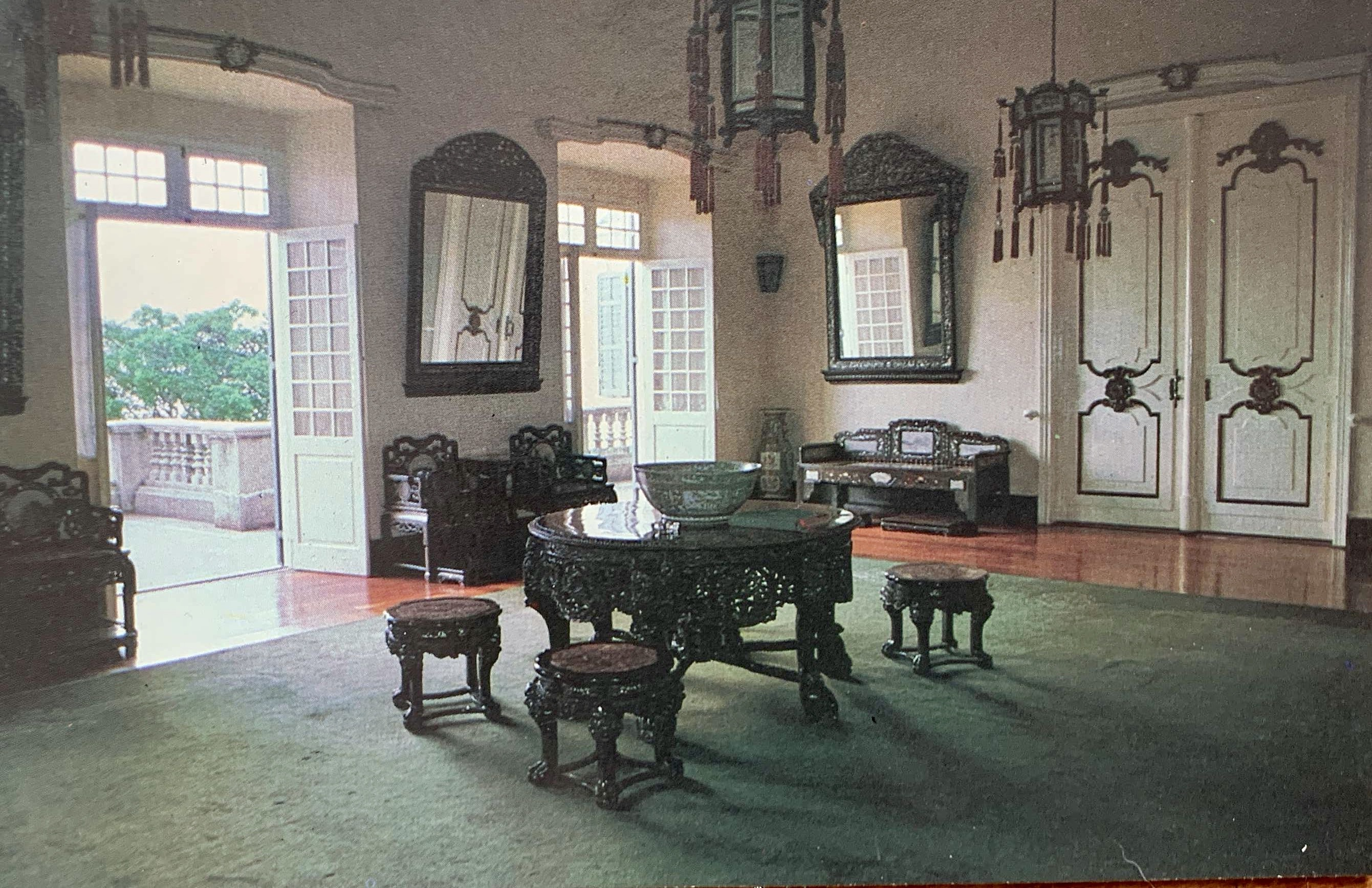 Governors Palace Praia Grande Interior Source ICM Commision for the Preservation of Macau Urbanistic and Cultural Heritage