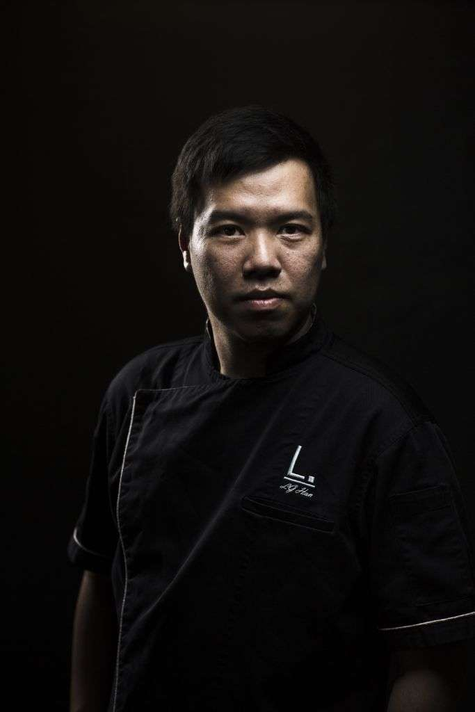 Portrait shot of Labyrinth Head Chef, Han Li Guang