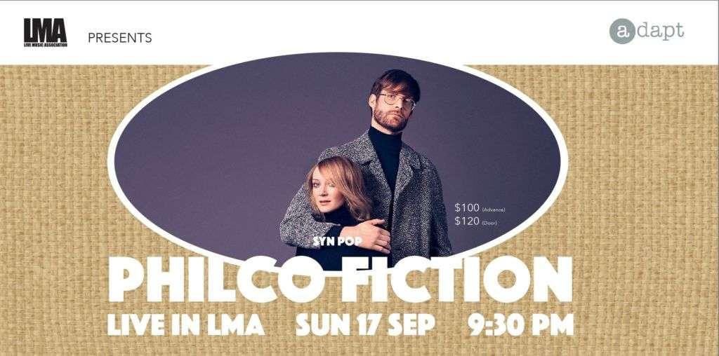 Philco Fiction Live in LMA