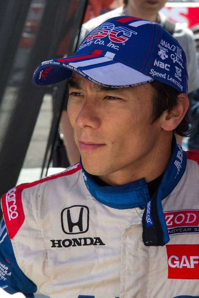 Portrait of Takuma Sato