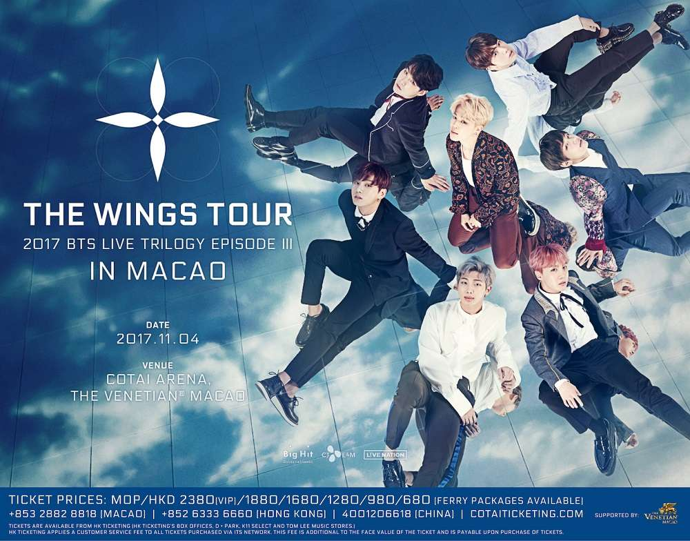 BTS Live Trilogy Episode III The Wings Tour in Macao - Macau Lifestyle