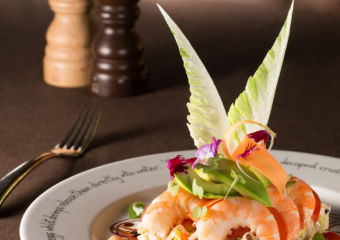 MGM's Aux Beaux Arts shrimp cocktail salad