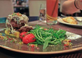 A dish at Tromba Rija Argentinian restaurant in Macau