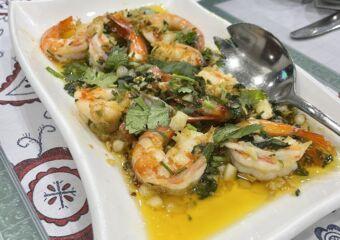 APOMAC garlic shrimp