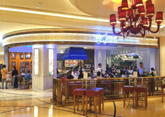 The exterior of The Apron restaurant in Galaxy Macau