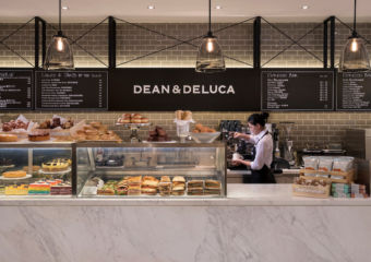 Front counter at Dean & Deluca