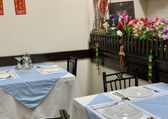 O Santos Restaurant Indoors Tables Upstairs Macau Lifestyle