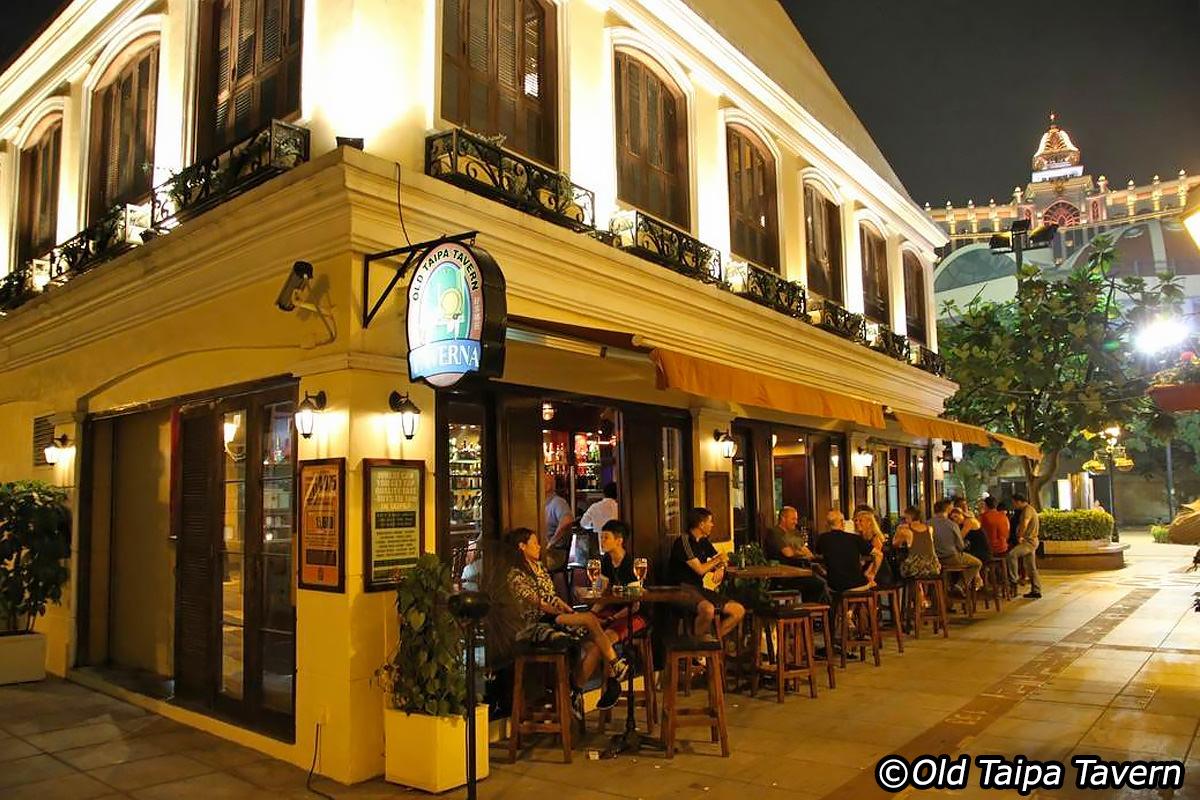 old taipa tavern happy hour Macau