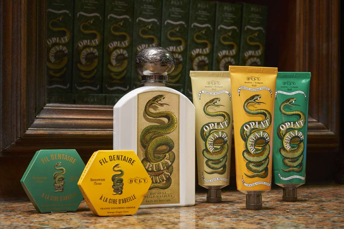 Buly 1803 Assortment of apothecary products from Buly 1803.