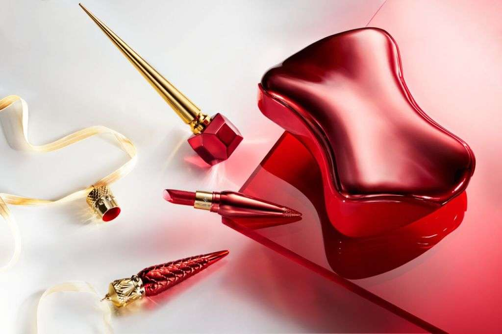Rouge Louboutin Metalissime Silky Satin Lip Colour, Loubilaque Lip Lacquer and Nail Colour