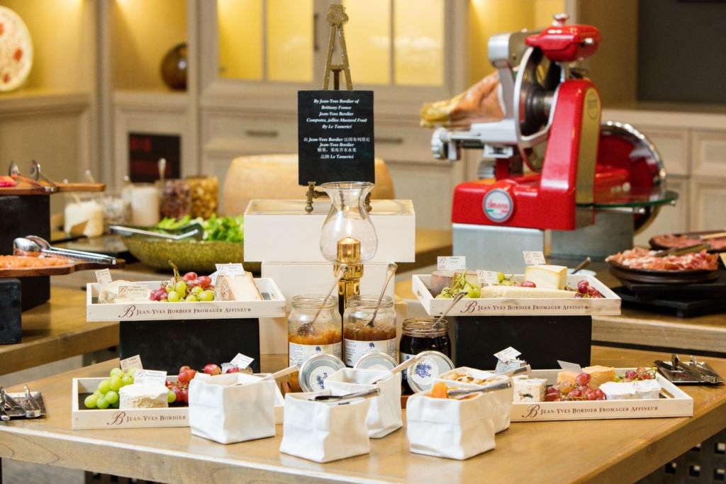 Breakfast buffet at The St. Regis Macao.