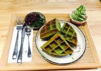 Gozen Matcha Waffles