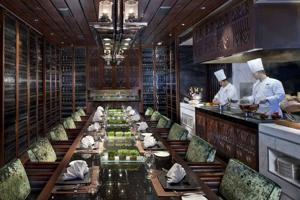 Vida Rica restaurant at the Mandarin Oriental in Macau