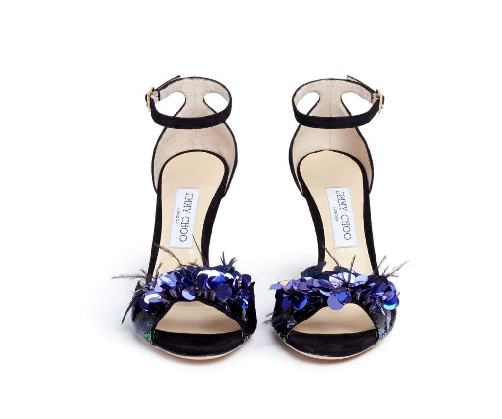 A pair of shoes from Jimmy Choo