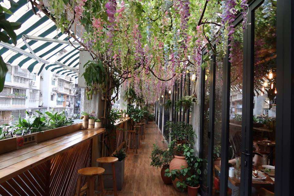 M2 Kitchen flower garden balcony