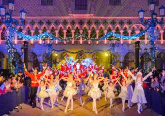 Magic of Christmas Venetian Macao 3D Light Show