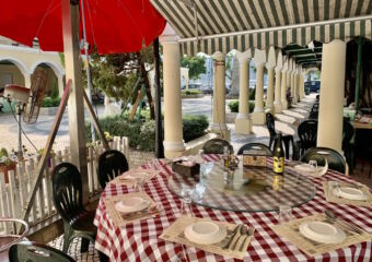 Nga Tim Outdoor Table Set with Plates Macau Lifestyle