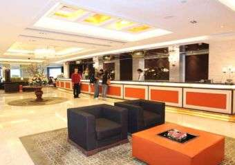 Taipa Square Hotel reception